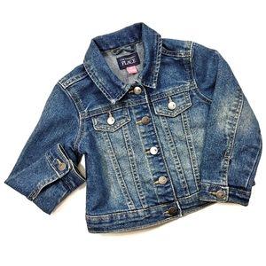 The Children's Place Jean Denim Jacket Size 3T